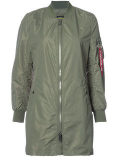 длинная куртка L-2B Alpha Industries
