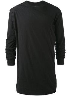 драпированная футболка Rick Owens DRKSHDW