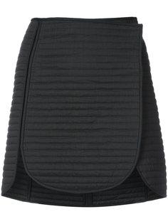 стеганая юбка с панельным дизайном  Isabel Marant