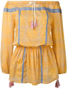 платье с заниженной линией плеч Lemlem