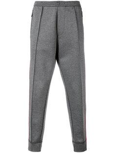спортивные штаны с полосками по бокам Dsquared2