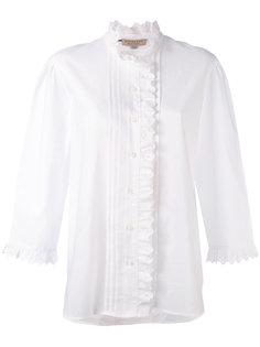 рубашка с оборками в английском стиле Burberry