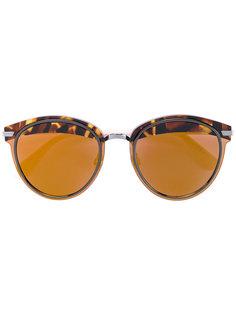 солнцезащитные очки с краями с эффектом черепашьего панциря Dior Eyewear