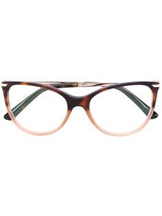 "очки в форме ""кошачий глаз"" Bulgari"