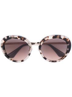 круглые солнцезащитные очки  Prada Eyewear