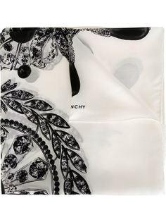 платок с принтом самоцветов Givenchy