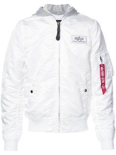 куртка с капюшоном L-2B Alpha Industries
