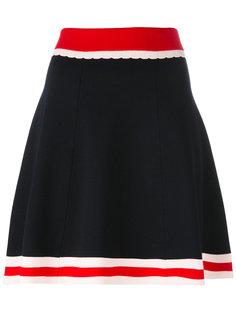 юбка с подолом в полоску Chinti And Parker