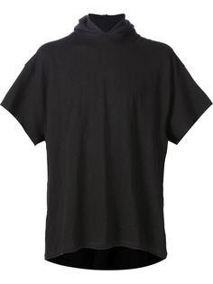 футболка плотной вязки с капюшоном Mr. Completely
