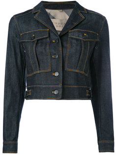 cropped denim jacket Burberry Vintage
