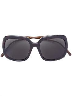 солнцезащитные очки с массивной оправой Havana  Marni