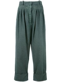 широкие укороченные брюки  J.W.Anderson