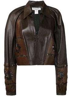 cut-out flower jacket Christian Dior Vintage