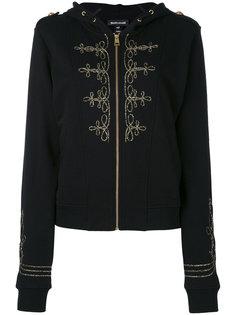 куртка с капюшоном на молнии Just Cavalli
