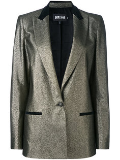 пиджак с металлическим финишем Just Cavalli