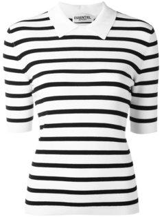 полосатая футболка-поло Essentiel Antwerp
