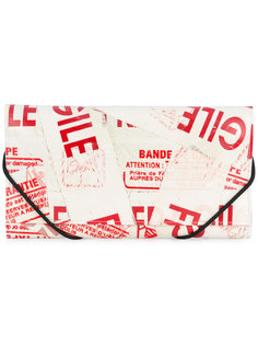 кошелек с принтом из искусственной кожи Mm6 Maison Margiela