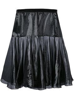flared layer skirt Krizia Vintage