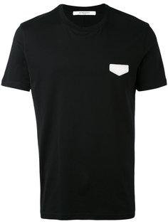 футболка с нашивкой логотипа Givenchy