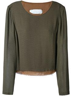 raw edge blouse Maison Margiela Vintage