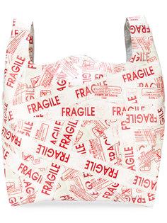 сумка-тоут с принтом Mm6 Maison Margiela