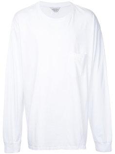 футболка с длинными рукавами свободного кроя Unused