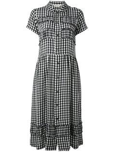 check print dress Comme Des Garçons Vintage