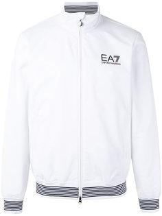 куртка-бомбер  с принтом-логотипом Ea7 Emporio Armani