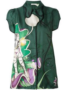 embroidered blouse Prada Vintage