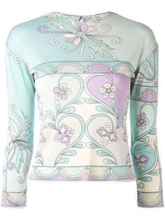 embroidered top Emilio Pucci Vintage