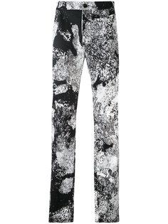 брюки кроя слим с принтом Lost & Found Ria Dunn