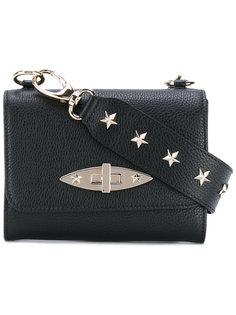 сумка через плечо с заклепками-звездами Red Valentino