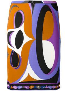 мини-юбка с принтом Emilio Pucci