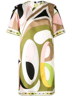 платье с короткими рукавами и принтом Emilio Pucci