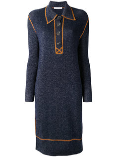 вязаное платье с контрастной отделкой J.W.Anderson