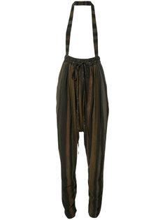 брюки-шаровары с подтяжками Vivienne Westwood