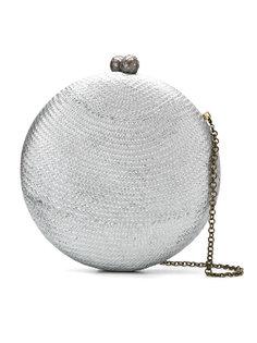 круглый клатч на цепочке Serpui