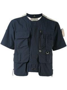 укороченная куртка с накладными карманами Snow Peak