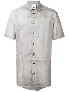 рубашка с контрастной вставкой  Lost & Found Rooms