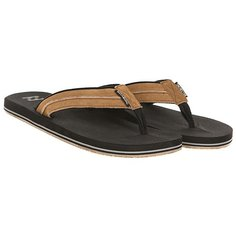 Вьетнамки Billabong All Day Impact Lux Black/Tan
