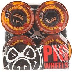 Колеса для скейтборда для лонгборда Pig Rover Orange 78A 59 mm