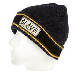 Шапка Slave Striped Black/Navy/Yellow