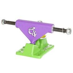 Подвески для скейтборда для лонгборда 2шт. Вираж 22 inch Purple/Green 3.25 (15.2 см)