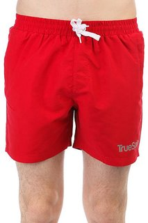 Шорты пляжные TrueSpin Basics Swim Shorts Red