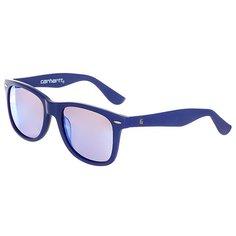 Очки Carhartt WIP Wip Dearborn Sunglasses Yale Blue Matte/Blue Mirrored Lenses