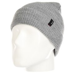 Шапка Brixton Heist Beanie Light Heather Grey