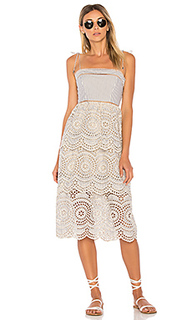 Meridian stripe sun dress - Zimmermann
