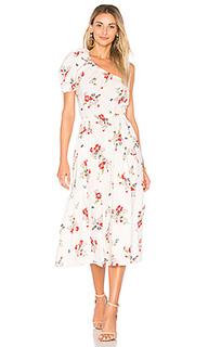 Платье с одним плечом marguerite - Rebecca Taylor