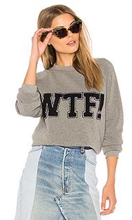Wtf classic crew sweatshirt - Rebecca Minkoff