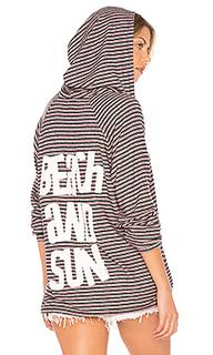 Cali solid beach & sun hoodie - Lauren Moshi